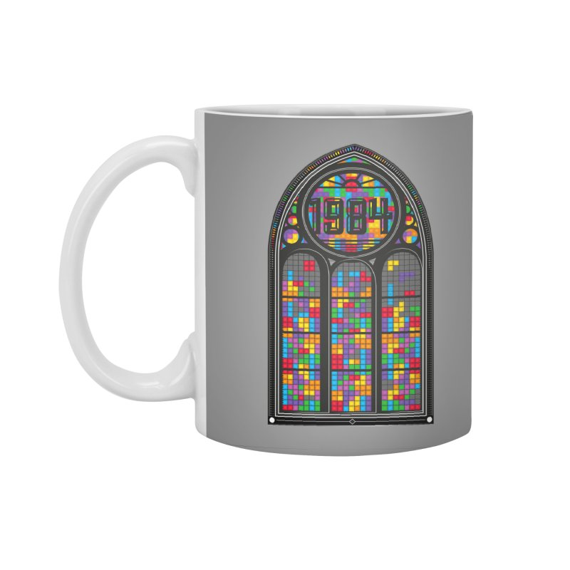 A Window To The Past - Tetris Accessories Standard Mug by chevsy's Artist Shop