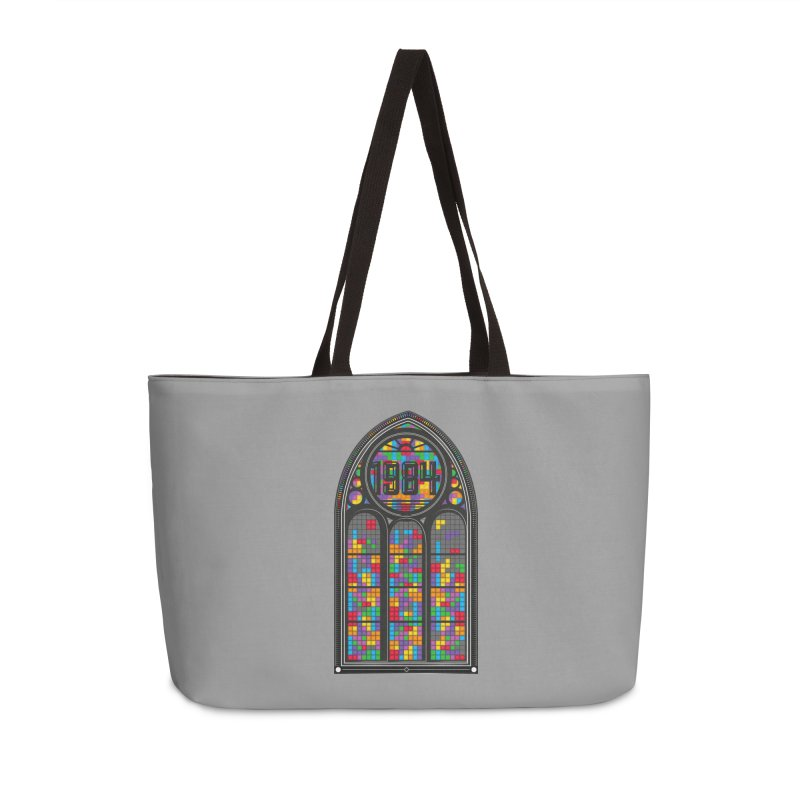A Window To The Past - Tetris Accessories Bag by chevsy's Artist Shop