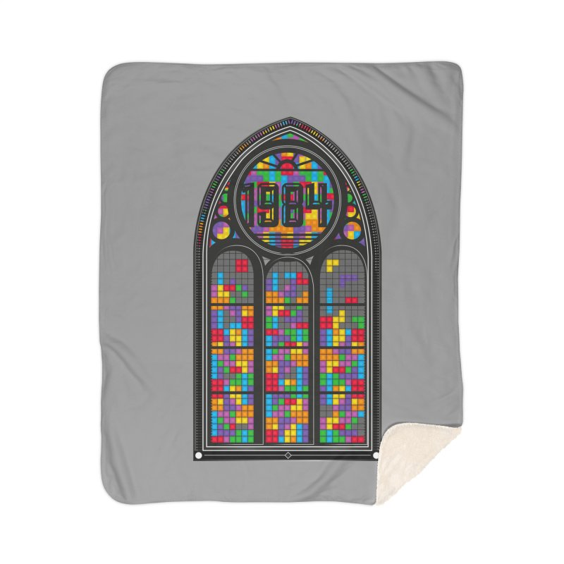 A Window To The Past - Tetris Home Blanket by chevsy's Artist Shop