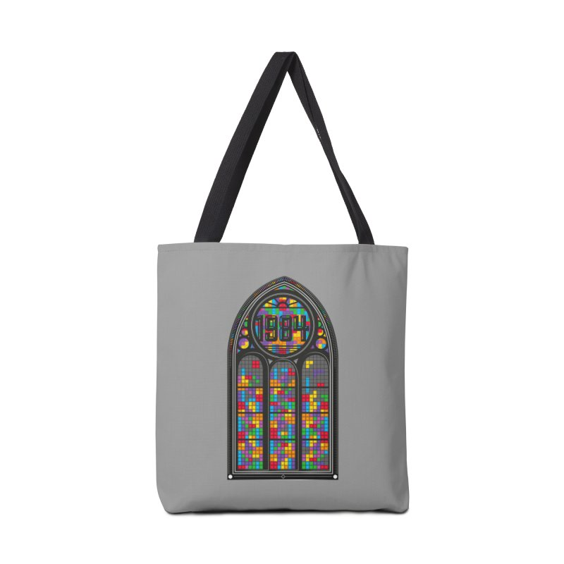 A Window To The Past - Tetris Accessories Tote Bag Bag by chevsy's Artist Shop