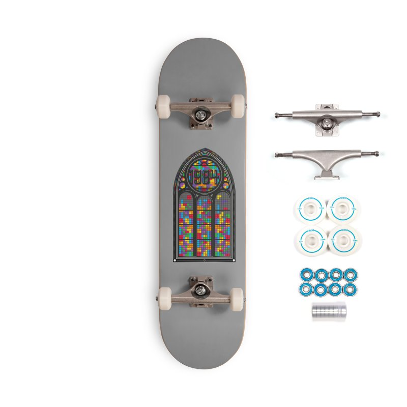 A Window To The Past - Tetris Accessories Complete - Basic Skateboard by chevsy's Artist Shop