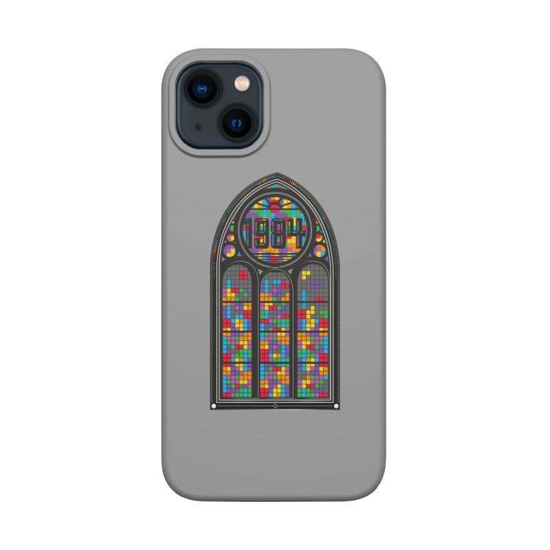 A Window To The Past - Tetris Accessories Phone Case by chevsy's Artist Shop