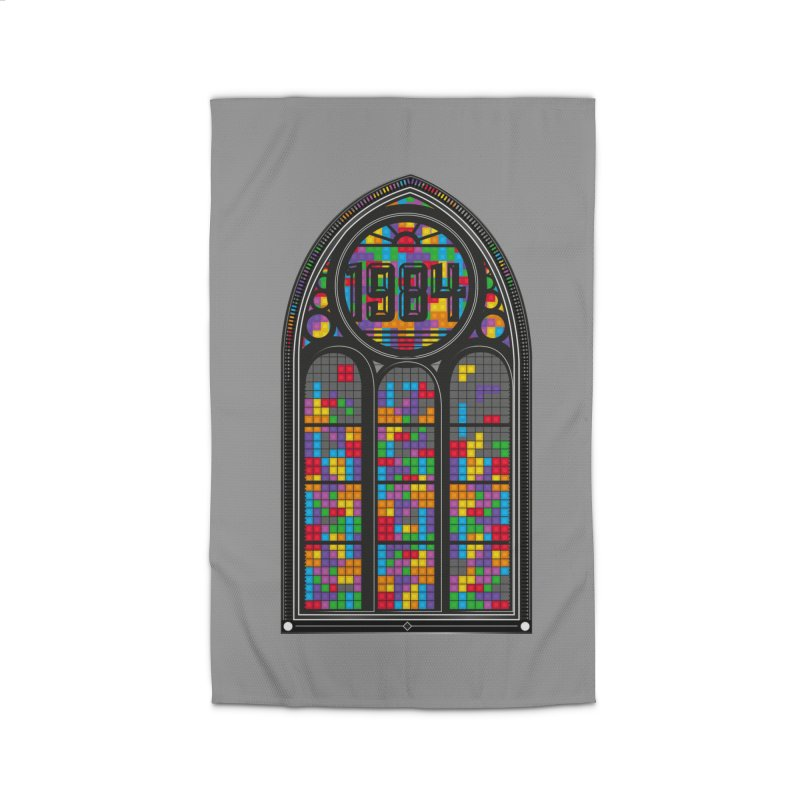 A Window To The Past - Tetris Home Rug by chevsy's Artist Shop