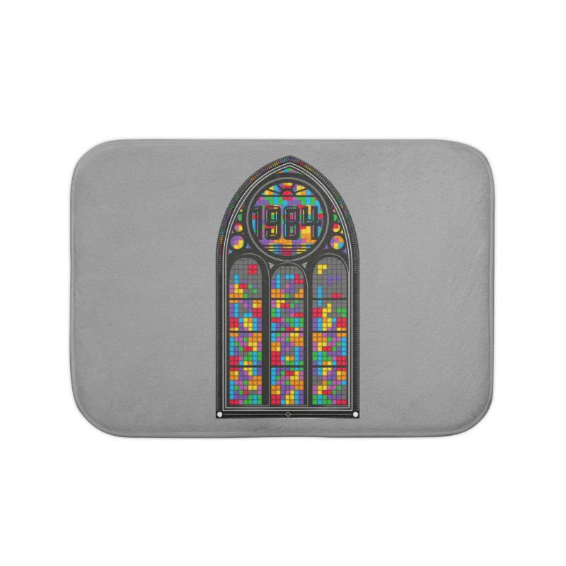 A Window To The Past - Tetris Home Bath Mat by chevsy's Artist Shop