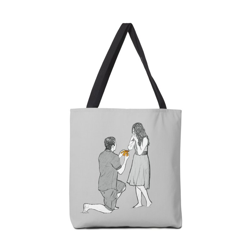 A PIZZA MY HEART Accessories Tote Bag Bag by chevsy's Artist Shop
