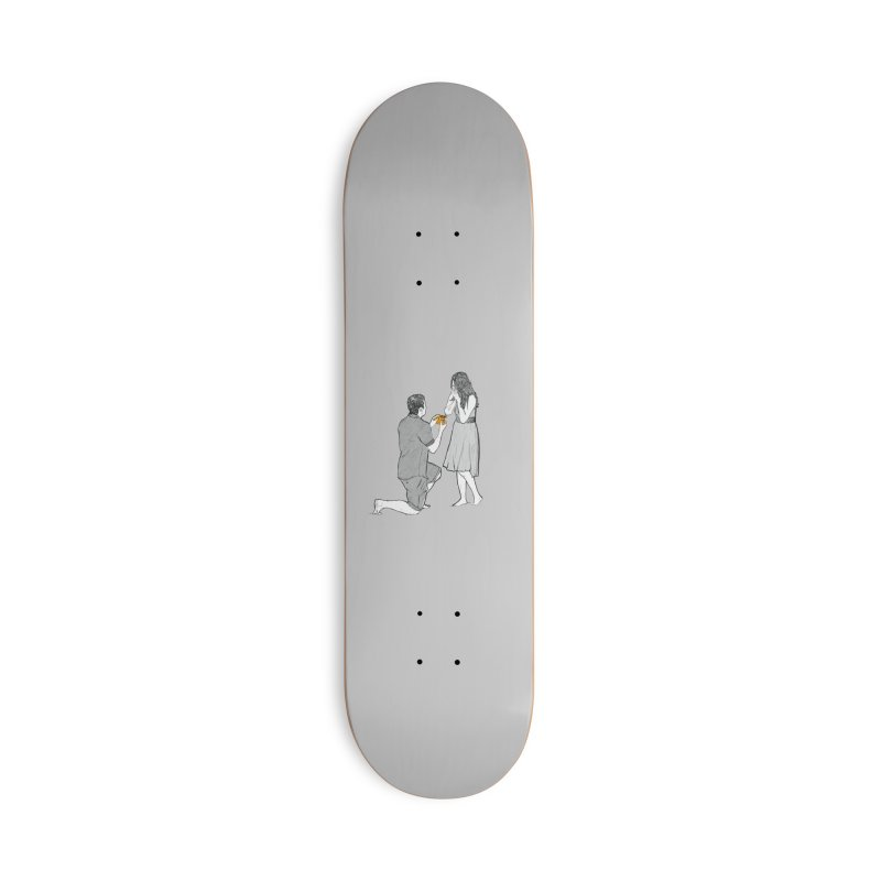 A PIZZA MY HEART Accessories Deck Only Skateboard by chevsy's Artist Shop