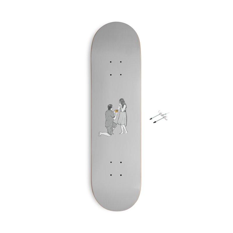 A PIZZA MY HEART Accessories Skateboard by chevsy's Artist Shop