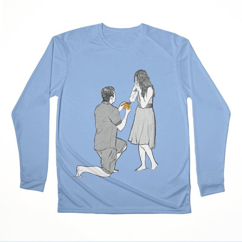 A PIZZA MY HEART Men's Longsleeve T-Shirt by chevsy's Artist Shop