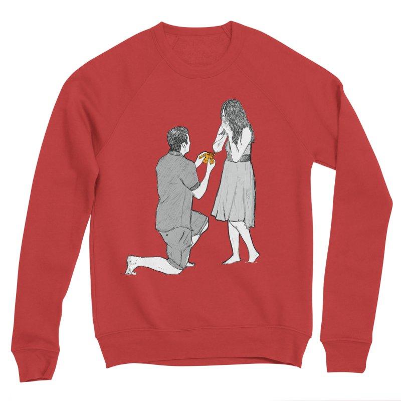 A PIZZA MY HEART Women's Sponge Fleece Sweatshirt by chevsy's Artist Shop