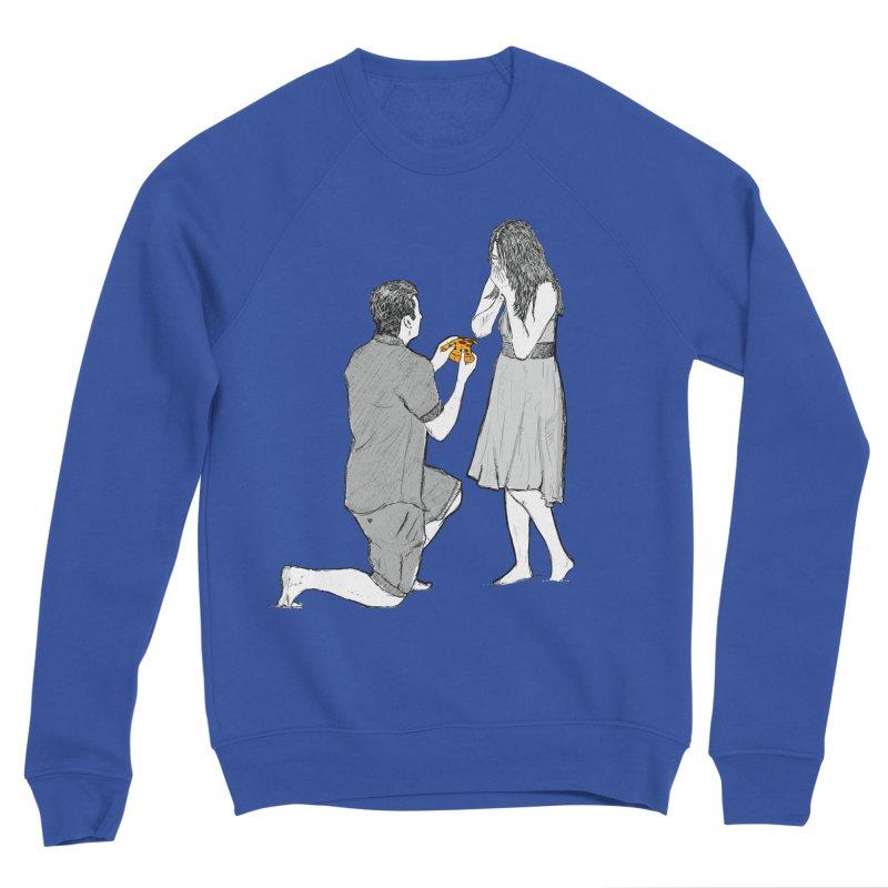 A PIZZA MY HEART Men's Sweatshirt by chevsy's Artist Shop
