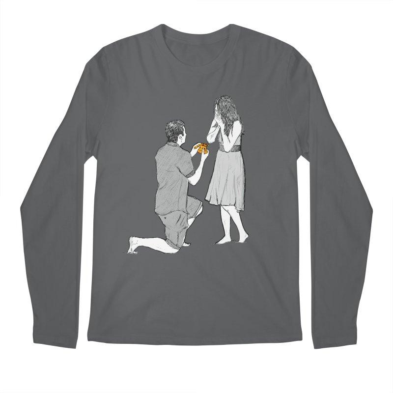 A PIZZA MY HEART Men's Regular Longsleeve T-Shirt by chevsy's Artist Shop