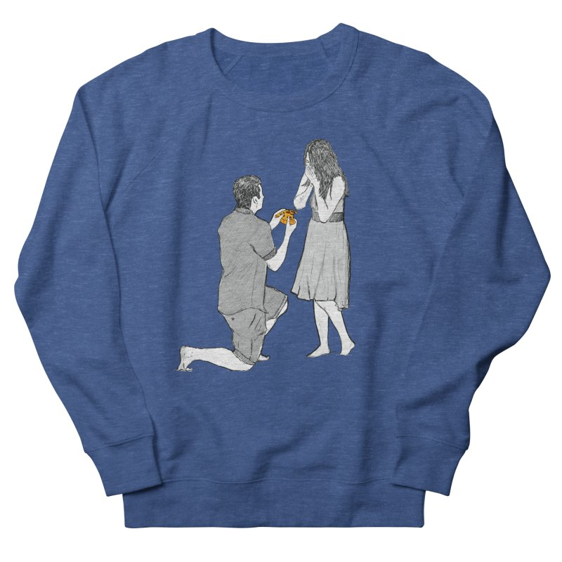 A PIZZA MY HEART Men's French Terry Sweatshirt by chevsy's Artist Shop