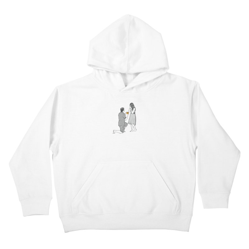 A PIZZA MY HEART Kids Pullover Hoody by chevsy's Artist Shop