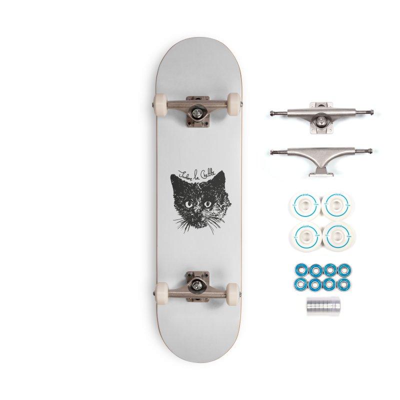 J'adore La Chatte Accessories Complete - Basic Skateboard by chevsy's Artist Shop