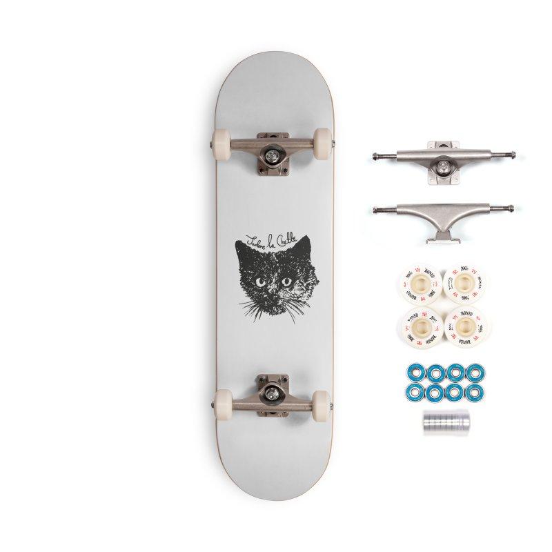 J'adore La Chatte Accessories Complete - Premium Skateboard by chevsy's Artist Shop