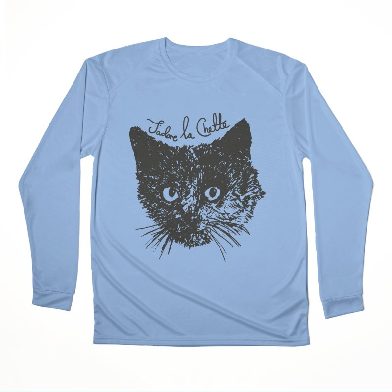 J'adore La Chatte Men's Longsleeve T-Shirt by chevsy's Artist Shop
