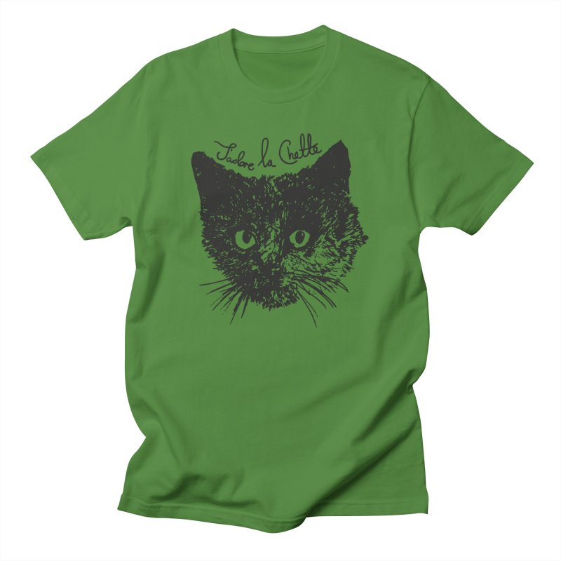 J'adore La Chatte Women's Regular Unisex T-Shirt by chevsy's Artist Shop