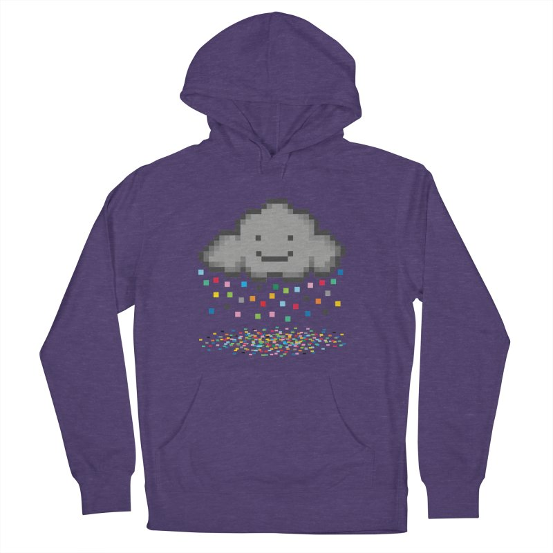 Creative Cloud Men's French Terry Pullover Hoody by chevsy's Artist Shop