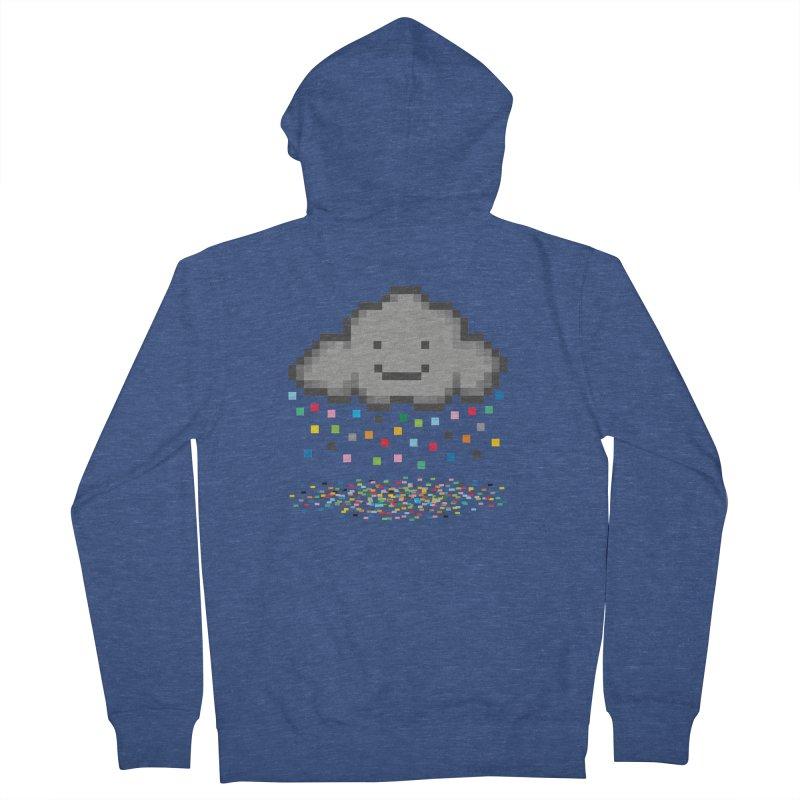 Creative Cloud Men's Zip-Up Hoody by chevsy's Artist Shop