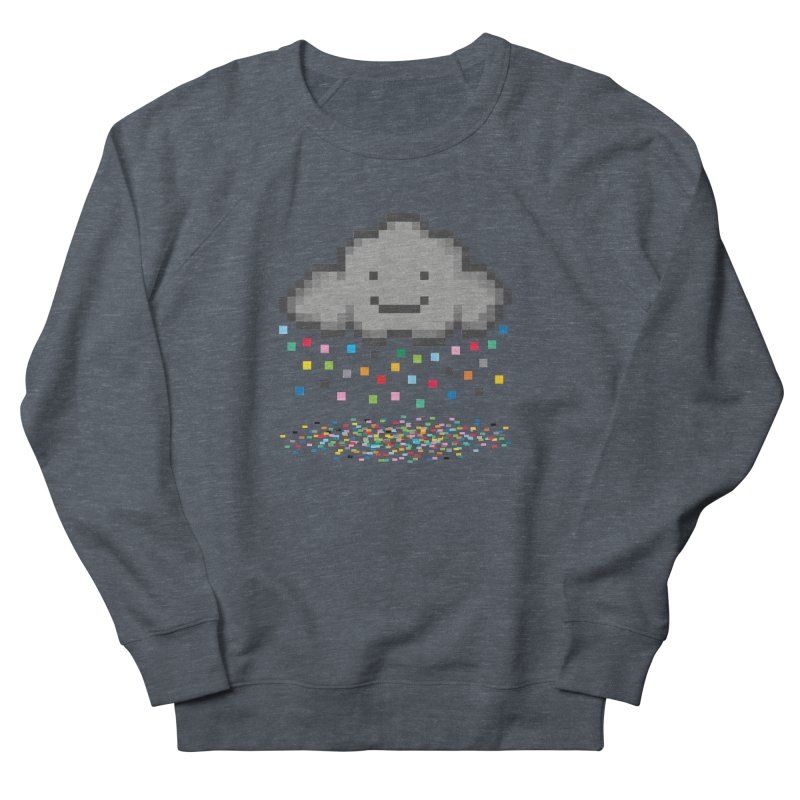 Creative Cloud Men's French Terry Sweatshirt by chevsy's Artist Shop