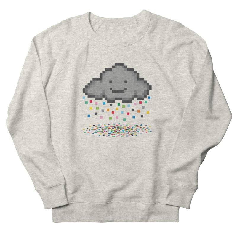 Creative Cloud Men's French Terry Sweatshirt by chevsy's Artist Shop