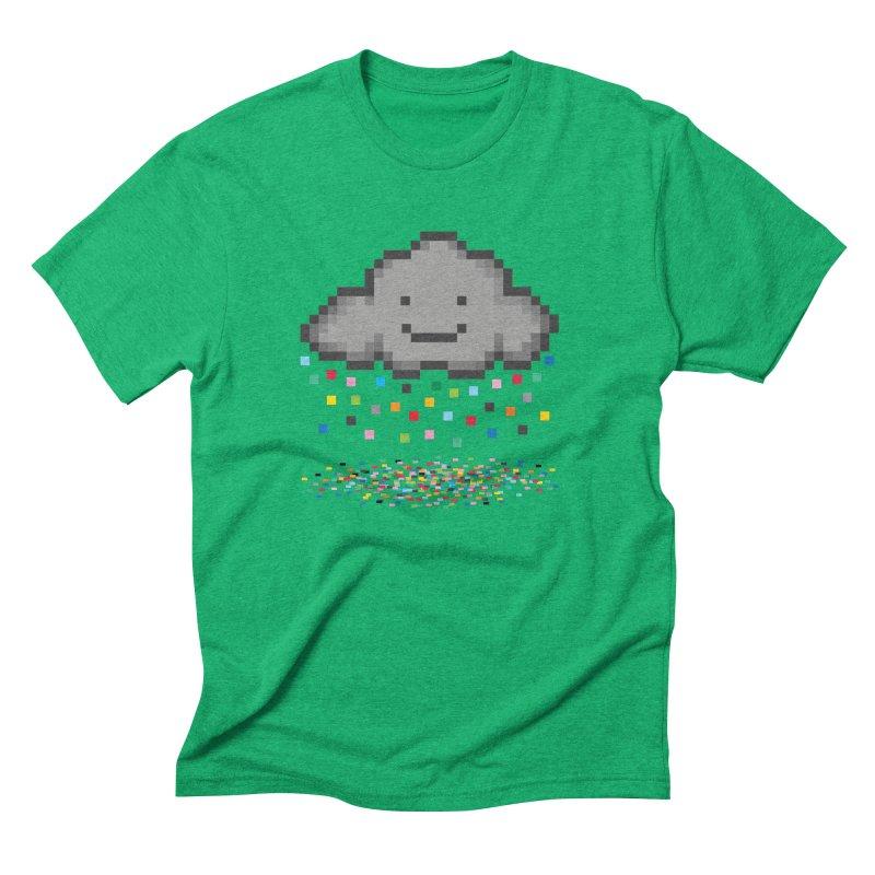 Creative Cloud Men's Triblend T-Shirt by chevsy's Artist Shop