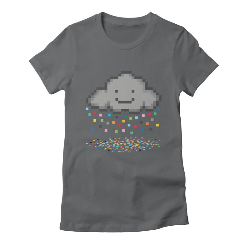 Creative Cloud Women's Fitted T-Shirt by chevsy's Artist Shop
