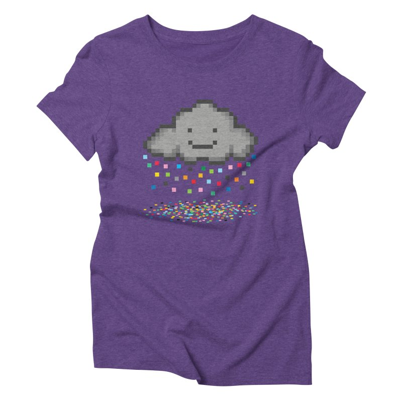 Creative Cloud Women's Triblend T-Shirt by chevsy's Artist Shop