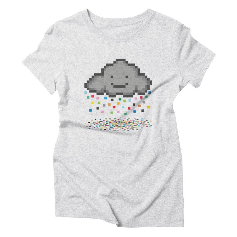 Creative Cloud Women's T-Shirt by chevsy's Artist Shop