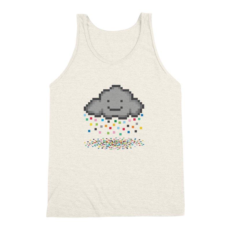 Creative Cloud Men's Triblend Tank by chevsy's Artist Shop