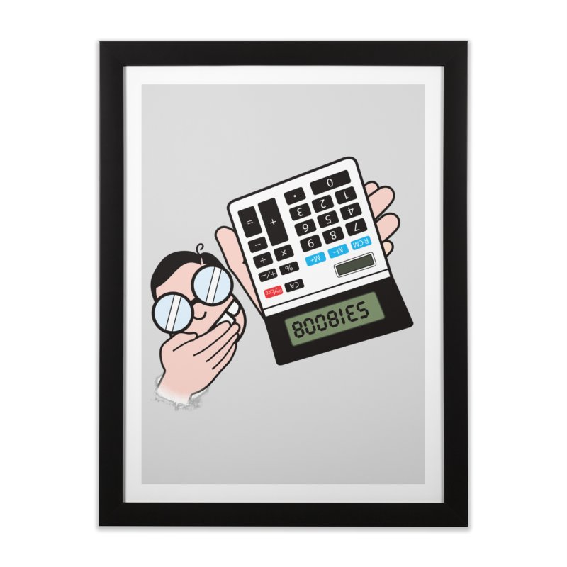 Nerds Will Be Nerds Home Framed Fine Art Print by chevsy's Artist Shop