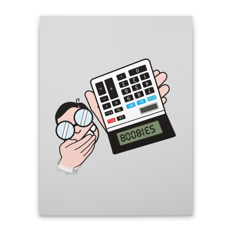 Nerds Will Be Nerds Home Stretched Canvas by chevsy's Artist Shop