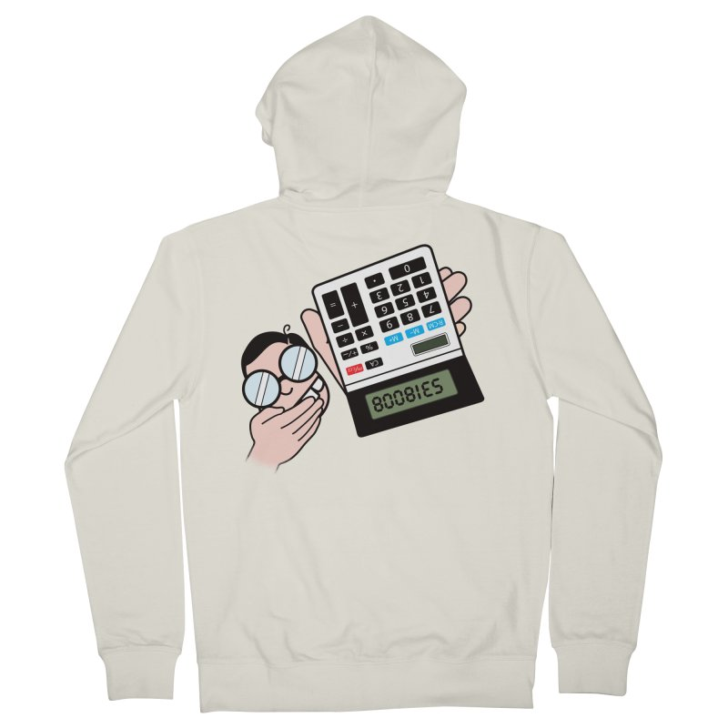 Nerds Will Be Nerds Men's French Terry Zip-Up Hoody by chevsy's Artist Shop