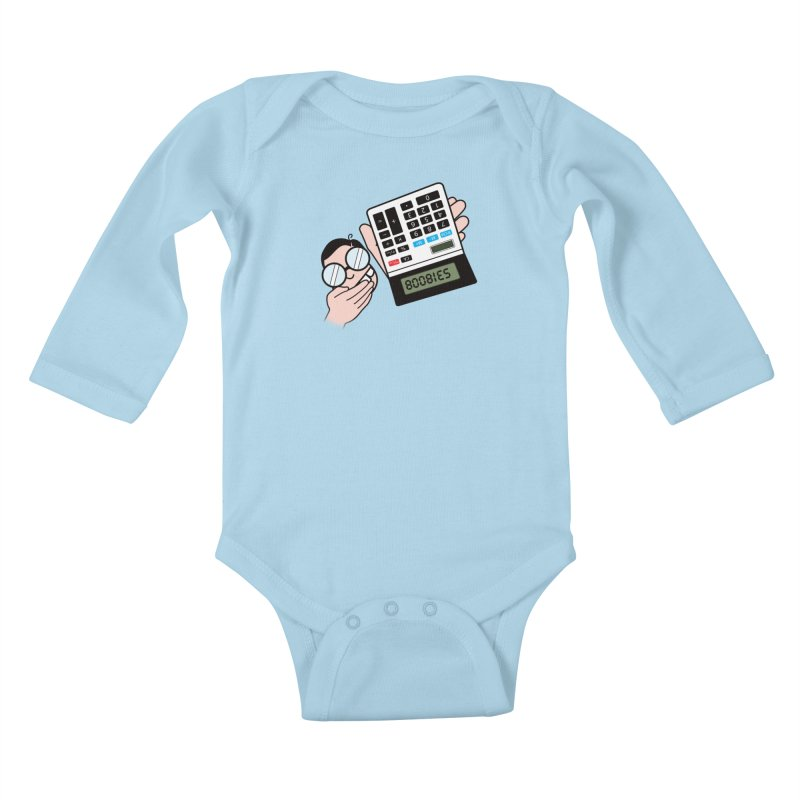 Nerds Will Be Nerds Kids Baby Longsleeve Bodysuit by chevsy's Artist Shop