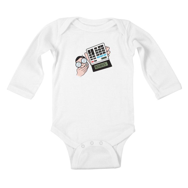 Nerds Will Be Nerds Kids Baby Longsleeve Bodysuit by chevsy's Artist Shop