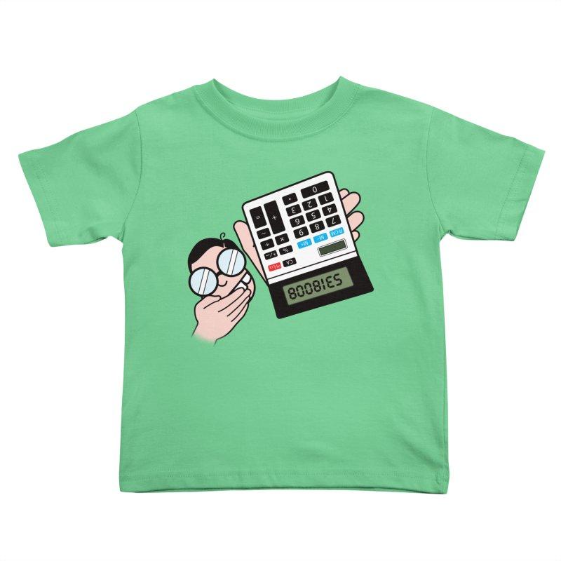 Nerds Will Be Nerds Kids Toddler T-Shirt by chevsy's Artist Shop