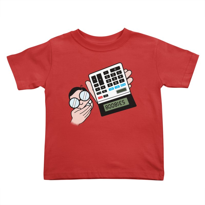 Nerds Will Be Nerds Kids Toddler T-Shirt by chevsy's Artist Shop