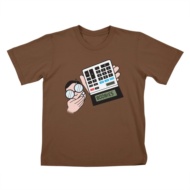 Nerds Will Be Nerds Kids T-Shirt by chevsy's Artist Shop