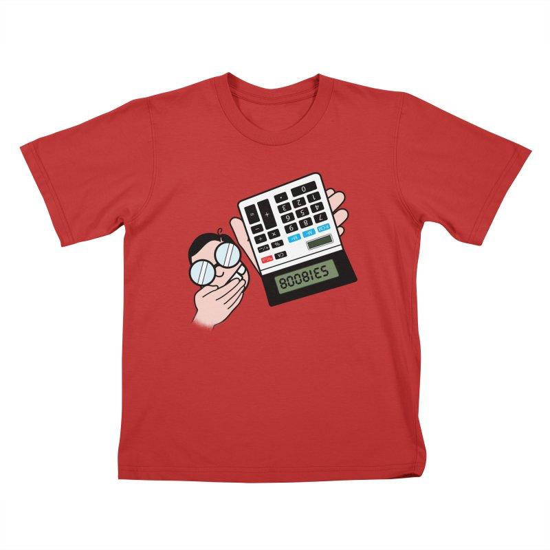 Nerds Will Be Nerds Kids T-Shirt by chevsy's Artist Shop