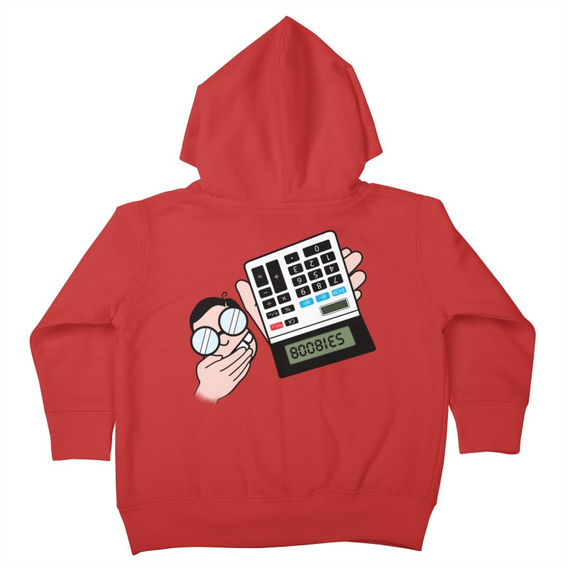 Nerds Will Be Nerds Kids Toddler Zip-Up Hoody by chevsy's Artist Shop