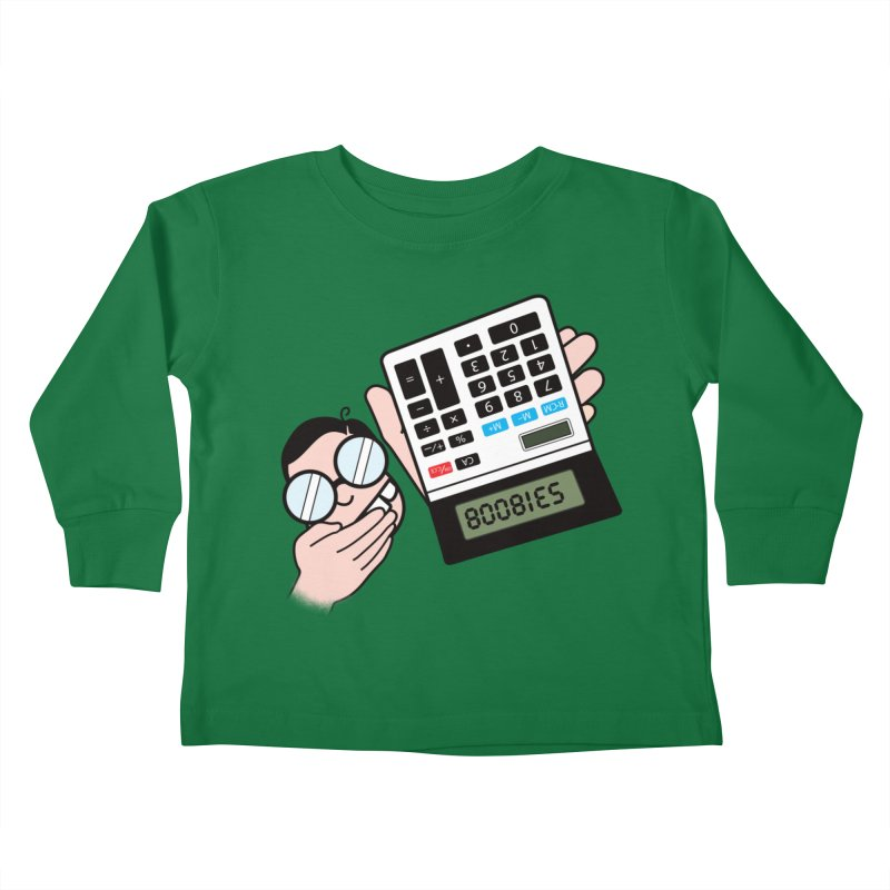 Nerds Will Be Nerds Kids Toddler Longsleeve T-Shirt by chevsy's Artist Shop