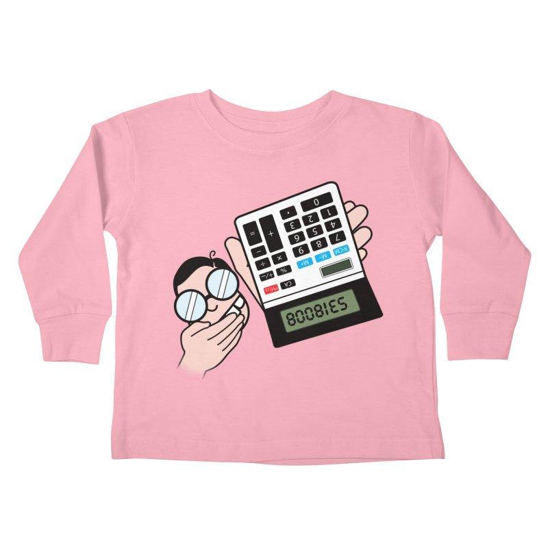 Nerds Will Be Nerds Kids Toddler Longsleeve T-Shirt by chevsy's Artist Shop