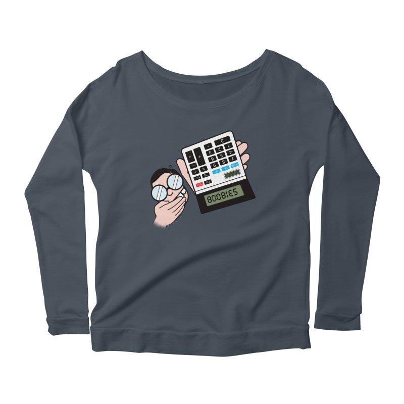 Nerds Will Be Nerds Women's Scoop Neck Longsleeve T-Shirt by chevsy's Artist Shop