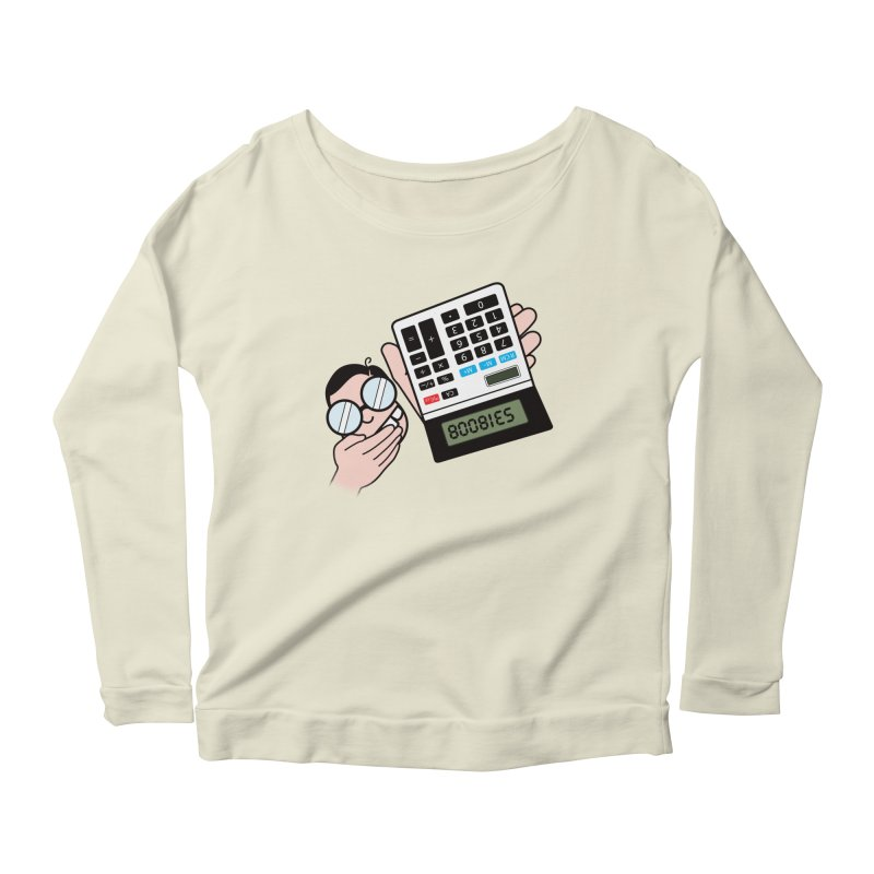 Nerds Will Be Nerds Women's Longsleeve Scoopneck  by chevsy's Artist Shop