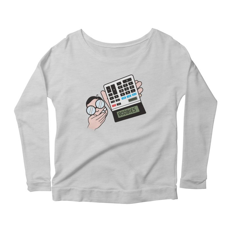 Nerds Will Be Nerds Women's Scoop Neck Longsleeve T-Shirt by chevsy's Artist Shop