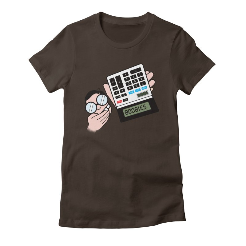 Nerds Will Be Nerds Women's Fitted T-Shirt by chevsy's Artist Shop