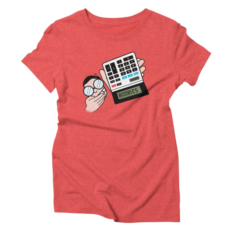 Nerds Will Be Nerds Women's Triblend T-Shirt by chevsy's Artist Shop