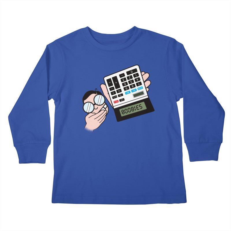 Nerds Will Be Nerds Kids Longsleeve T-Shirt by chevsy's Artist Shop