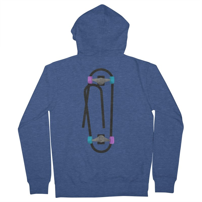 Clipboard Men's French Terry Zip-Up Hoody by chevsy's Artist Shop