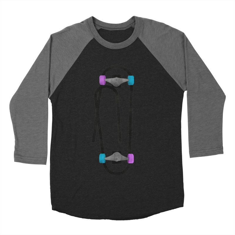 Clipboard Women's Baseball Triblend Longsleeve T-Shirt by chevsy's Artist Shop